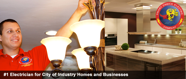 electrician for city of industry  homes and businesses